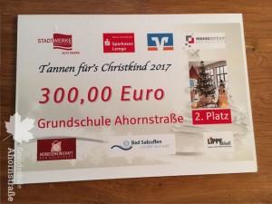 Weihnachtsbaum Gutschein 2017